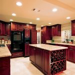 modern red cherry wood kitchen cabinets 25 best cherry