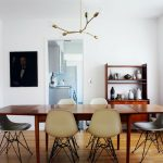 modern retro style dining room for everyone