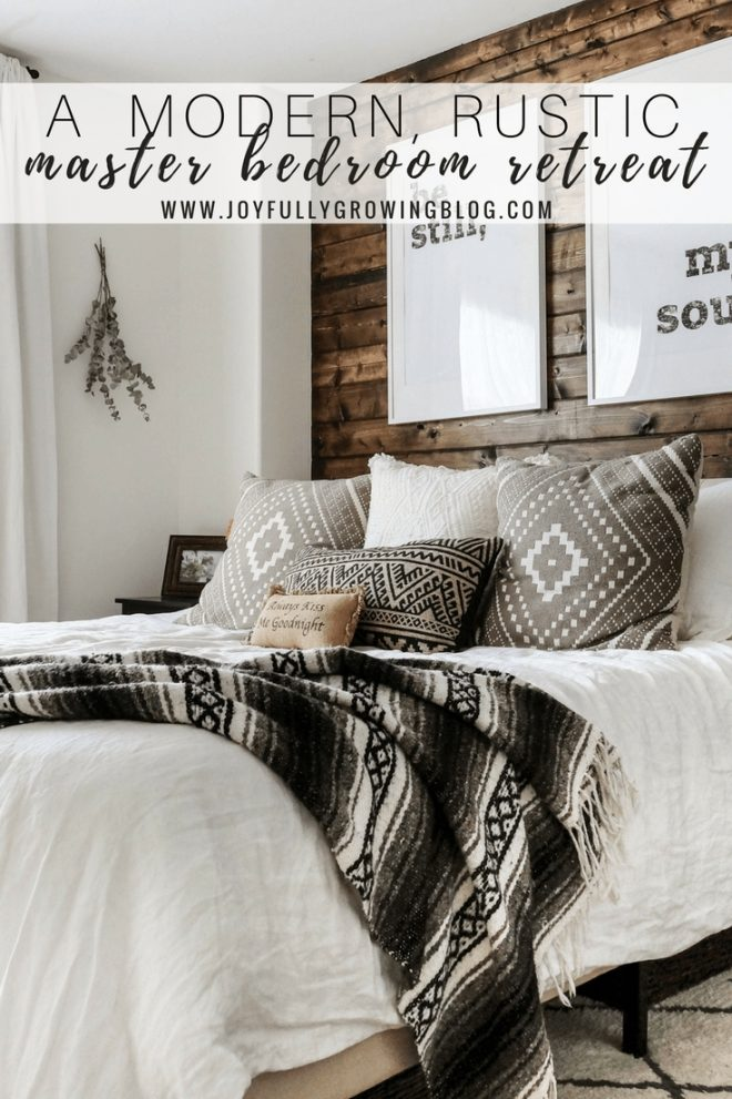 modern rustic bedroom reveal tips on blending two styles dream