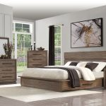 modern rustic pine 4 piece queen bedroom set haven in 2019