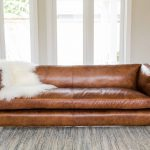 modern tan leather couch scenic sectional sofa home