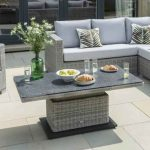 modular corner sets garden furniture tong garden centre