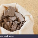 moroccan lava clay dried chips mud crumbled rhassoul or