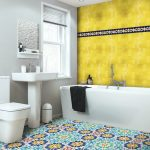 moroccan tiles house moroccan blue and gold mosaic bathroom
