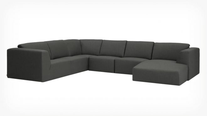 morten 6 piece sectional sofa with chaise fabric
