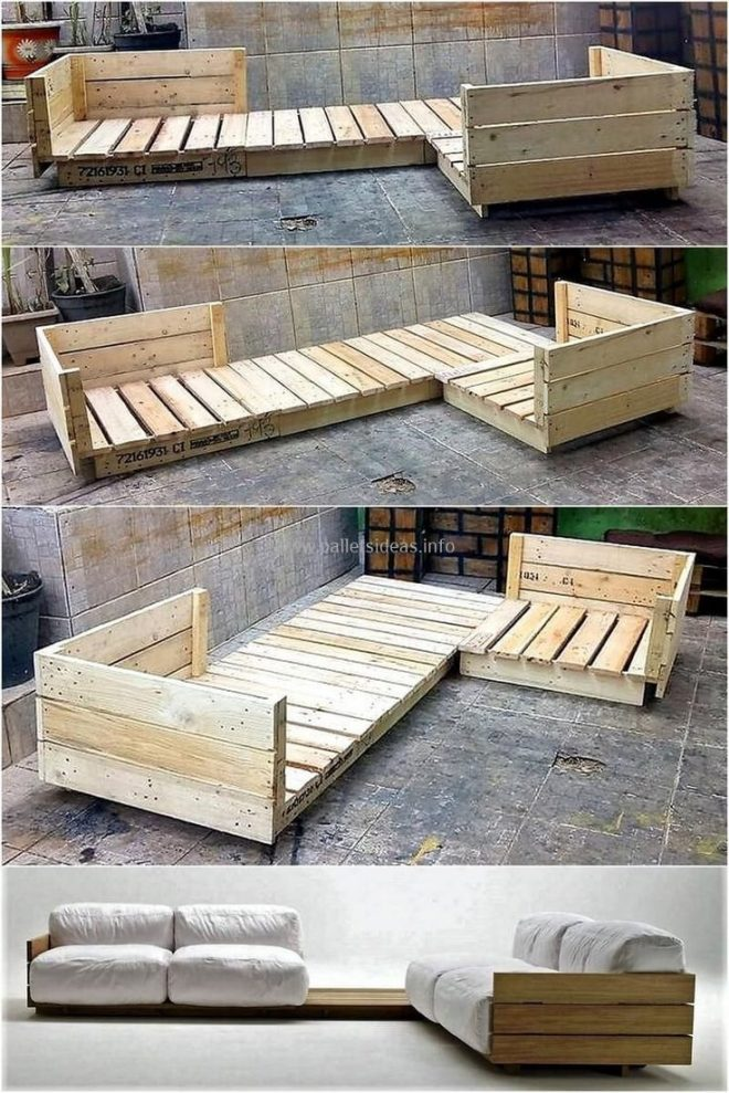 most creative simple diy wooden pallet furniture project