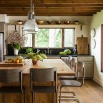 mountain house kitchen before and after via lauren liess in