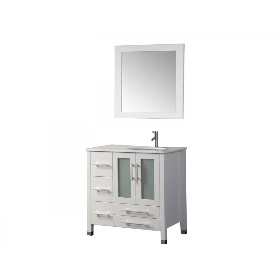 mtd sweden 36 white single sink bathroom vanity set right side