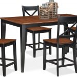 nantucket counter height dining table and 4 dining chairs