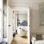 natures touch in a french pied terre parisian decor
