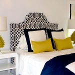 navy white and yellow bedroom home bedroom home home decor