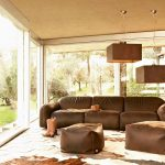 new brown couch country living room busnelli french beige