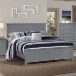 new classic furniture tamarack grey queen bed