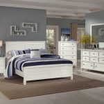 new classic tamarack panel bedroom set in white