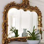 new horchow neimans gold capetian wall mirror french rococo