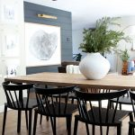 new low back modern spindle chairs for the dining room