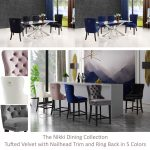 nikki dining collection dining furniture homedecor