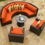 north cape melrose wicker patio sectional set outdoor