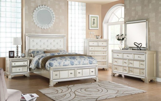 oasis home tiffany 4 piece bedroom set