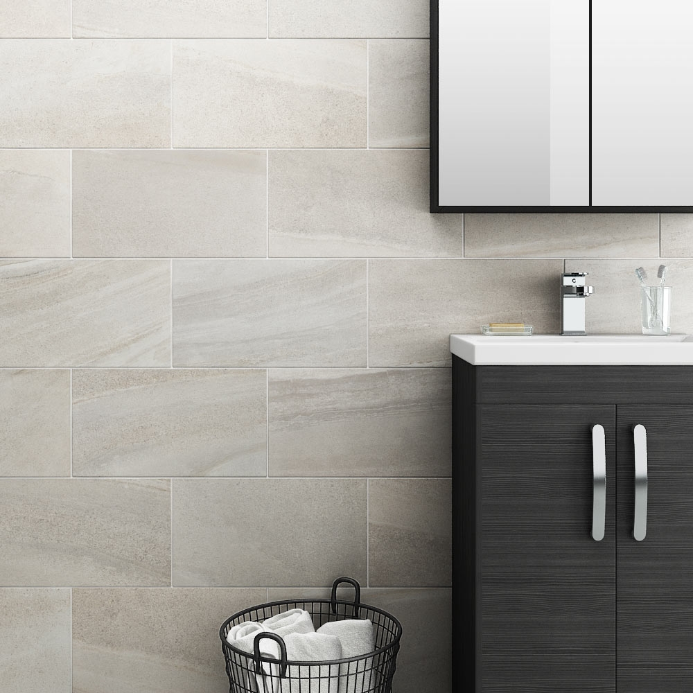 oceania stone white wall tiles at victorian plumbingcouk