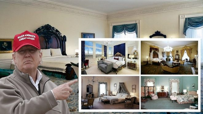 omg how many bedrooms are in the white house today