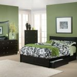 one of my guest bedrooms is this color but a little lighter
