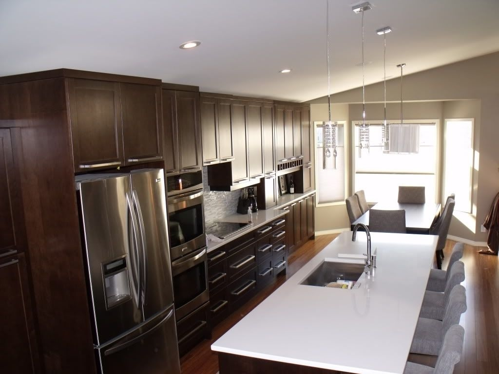 Brilliant Single Wall Kitchen with Island – Opnodes