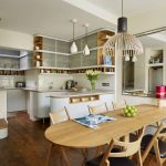 open kitchen dining room decorating ideas for small combos