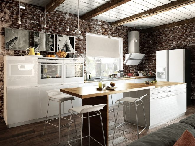 open loft kitchen interior design ideas rustic country room and