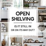 open shelving is it still in or on its way out tidbits