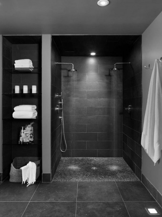 open showers bathroom open shower eas for small modern bathrooms