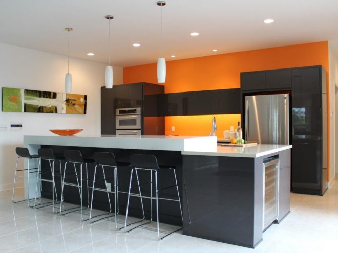 orange paint colors for kitchens pictures ideas from gym