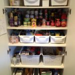 organising a kitchen pantry with deep shelves perfect pantry