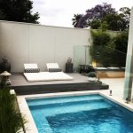 our daybed keeping cool the pool cool outdoorlife
