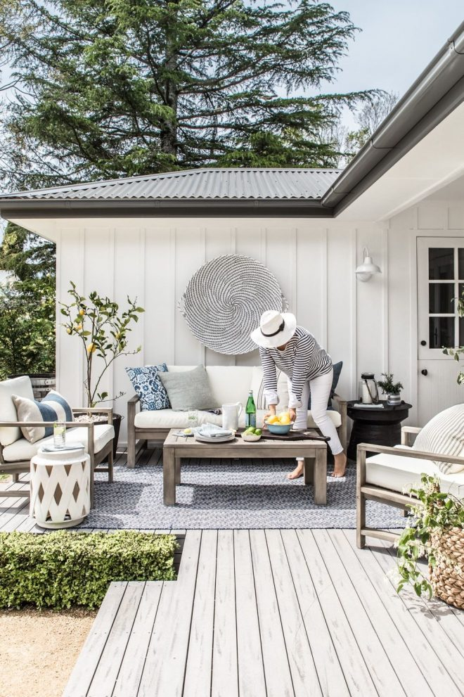our outdoor makeover with pottery barn patio outdoor