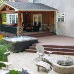 outdoor covered deck ideas the evolution of living decks composite