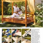 outdoor daybed plans outdoor furniture plans outdoor plans
