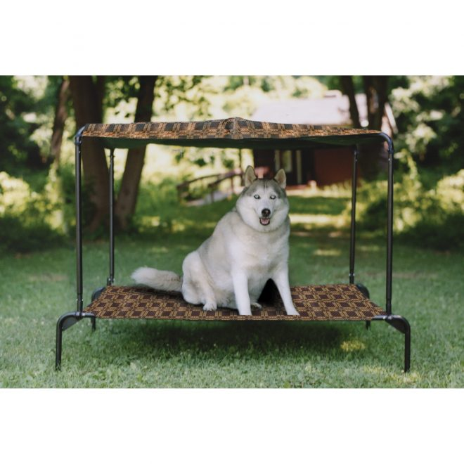 outdoor dog bed with canopy korrectkritterscom