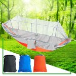 outdoor double 2 people hammock camping tent hanging swing