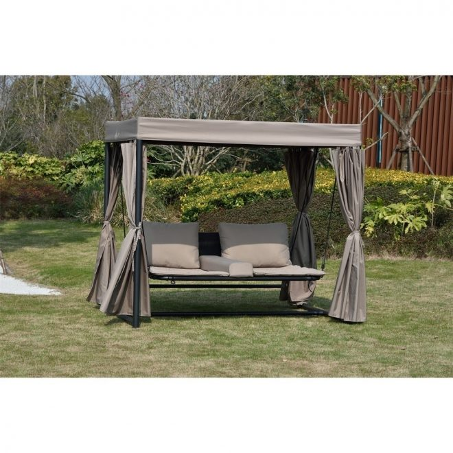 outdoor double daybed swing bed with canopy moda furnishings