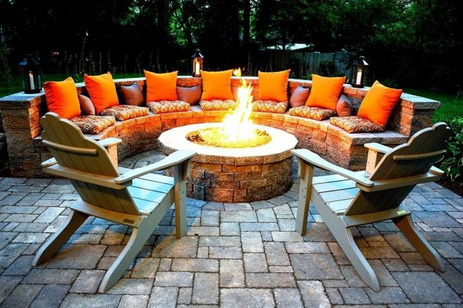 outdoor fire pits longview tx professional landscapers