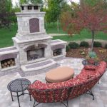 outdoor fireplace designs landscaping aidnature outdoor