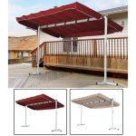 outdoor free standing awning patio canopy gazebo shelter sun