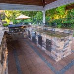 outdoor kitchen bar builders elite landscapes