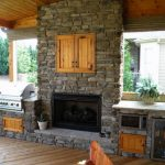 outdoor kitchen designs with fireplace ideas 200 decoor