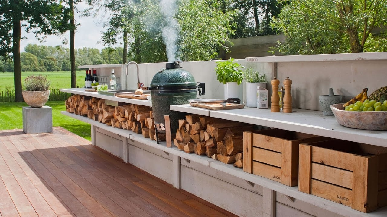 outdoor kitchen ideas on a budget youtube