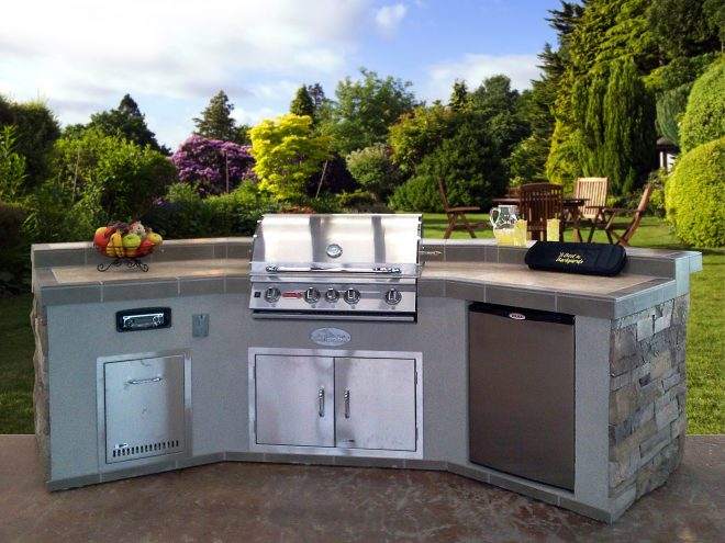 outdoor kitchen island custom design outdoor kitchens diy
