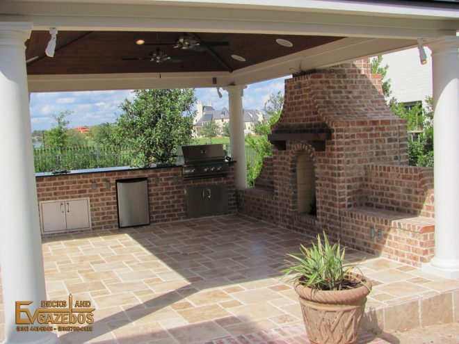 outdoor kitchen with fireplace designs kitchen decor outdoor