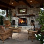 outdoor living ideas with fireplace 4 decoor