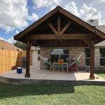 outdoor living rustic patio cover in frisco texas beautiful